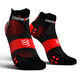 Compressport Pro Racing V3.0 UItralight Run Low juoksusukat , musta